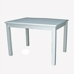 Mission Juvenile Linen White Table