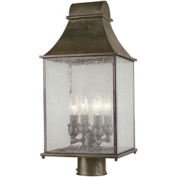 World Imports Revere Collection Outdoor 4-light Post Lantern