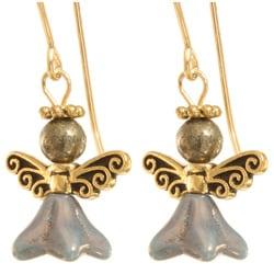 'Remliel' 14k Gold Fill Angel Earrings