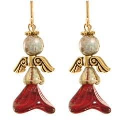 'Iofiel' 14-k gold fill Angel Earrings