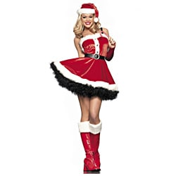 Women's Sexy Santa Costume