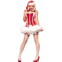 Women's Miss Mistletoe Costume