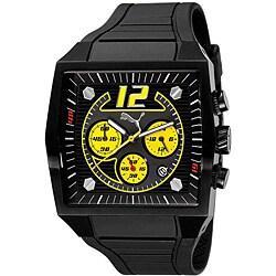 PUMA Gents 'Rod' Black Multifunction Watch