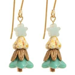 14k Gold Fill 'Twinkling Little Tree' Earrings