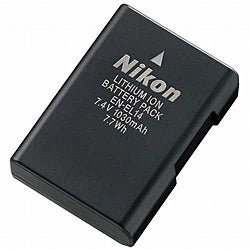 Nikon EN-EL14 Li-Ion Battery for D3100/ D5100/ P7000 Digital Cameras