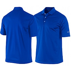 Nike Men 39 S Royal Blue Dri Fit Stretch Tech Golf Polo Shirt