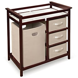 Good Modern Cherry Changing Table