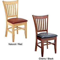 Zoe Bistro/ Cafe Chairs (Set of 2)