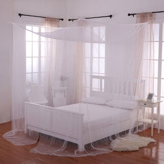 Palace Four-poster Bed Canopy & Bed Canopies For Less | Overstock.com