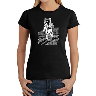 Los Angeles Pop Art Women's Astronaut T-shirt
