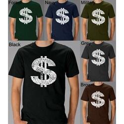 Los Angeles Pop Art Men's Dollar Sign T-shirt