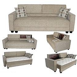 Madrid Convertible Sofa Bed Free Shipping Today Overstock