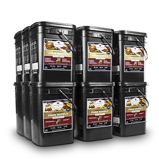 Wise Company Long Term Emergency Food Storage (2160 Servings)