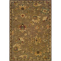 Berkley Tan/ Beige Transitional Area Rug - 9'10 x 12'9
