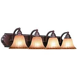 Woodbridge Lighting Broadmore 4-light Bordeaux Bath Bar