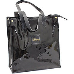 Legacy Black Patent Tote Bag
