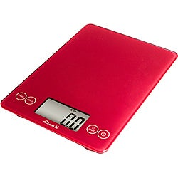 Escali Arti Red 15-pound Digital Food Scale