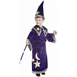 Dress Up America Boy's Magic Wizard Costume