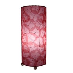 Red Banyan Leaf Table Lamp (Phillipines)