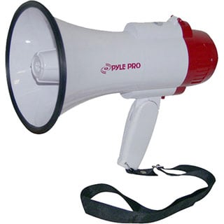 Professional Megaphone/Bullhorn with Siren and Voice Recorder