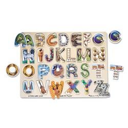 Melissa & Doug Alphabet Art Puzzle