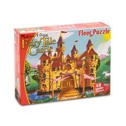 Melissa & Doug Fairy Tale Castle Floor 48-piece Set