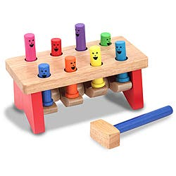 Melissa & Doug Deluxe Pounding Bench Activity Set|https://ak1.ostkcdn.com/images/products/P13983936.jpg?impolicy=medium
