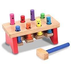 Melissa & Doug Deluxe Pounding Bench Activity Set