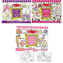 Melissa & Doug Girl's Activity Bundle