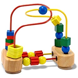 Melissa & Doug First Bead Maze Activity Set
