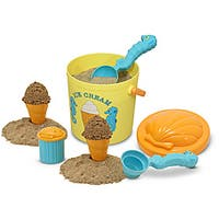 Melissa & Doug Speck Seahorse Sand Ice Cream Play Set