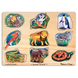 Melissa & Doug Zoo Sound Puzzle