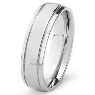 Stainless Steel Men's High Polish Wedding Band|https://ak1.ostkcdn.com/images/products/P13984947jt.jpg?impolicy=medium