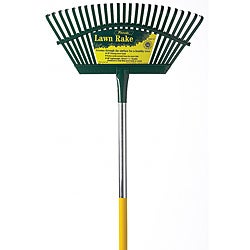 Cal Flex Lawn Rake 19-inch Steel Head
