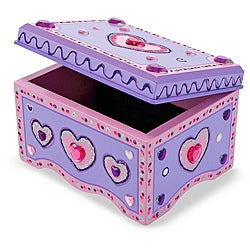 Melissa & Doug Jewelry Box - Do It Yourself