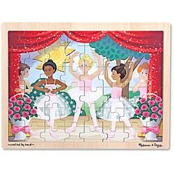 Melissa & Doug Ballet Performance 48-piece Wooden Jigsaw Puzzle - Thumbnail 0