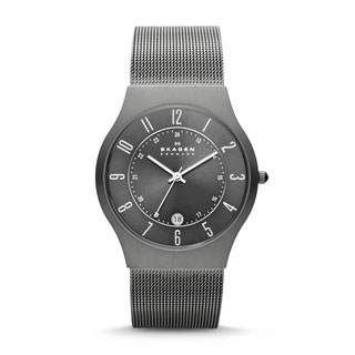 Skagen Men's Grenen Grey Titanium Watch