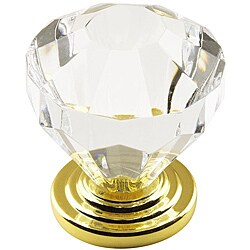 Amerock 1.375-inch Crystal-look Cabinet Knob (Pack of 5)