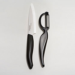 Revolution Black 4.5-inch Utility Knife and Everything Peeler