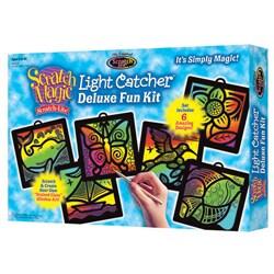 Melissa & Doug Deluxe Light Catcher Scratch Art Set