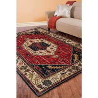 Hand-tufted Verona Semi-worsted New Zealand Wool Area Rug (8' x 11')