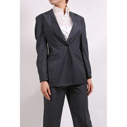 Ferrecci Women's Charcoal Two-piece Suit