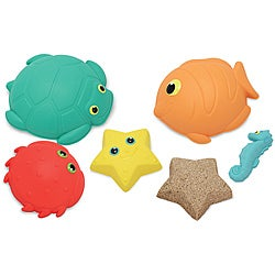 Melissa & Doug Seaside Sidekicks Sand-molding Set - Thumbnail 0