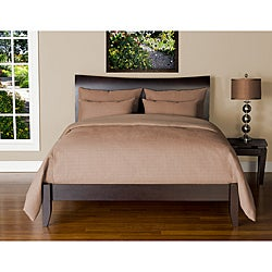 Belfast Flax 6-piece Full-size Duvet Cover and Insert Set - Thumbnail 0