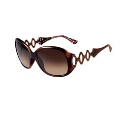 Emilio Pucci Women's Havana Fashion Sunglasses