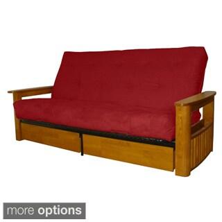 Columbus Microfiber Suede Inner Spring Full-size Futon Sofa Bed Sleeper