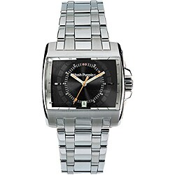 Hush Puppies Men's Stainless Steel Rectangular Watch