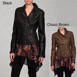 Shop Romeo Amp Juliet Women S Faux Leather Jacket Free