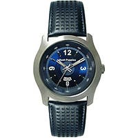 Hush Puppies Men's Blue Leather Strap Watch