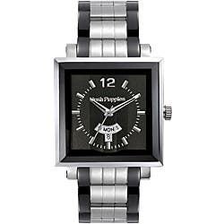 Hush Puppies Men's Square Black Dial Watch|https://ak1.ostkcdn.com/images/products/P14020320.jpg?impolicy=medium